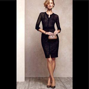 Anthropology black Mona dress by Byron Lars size 4